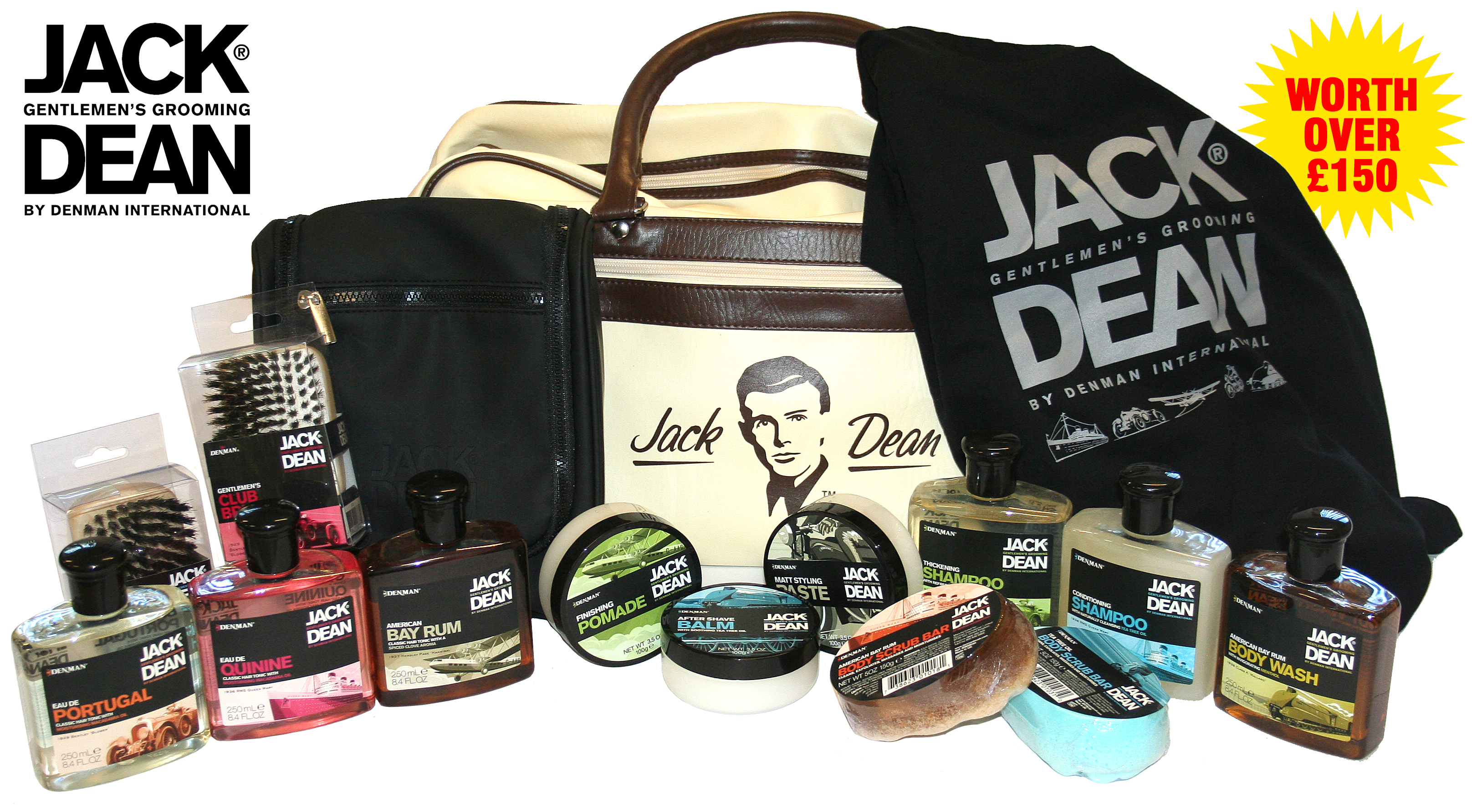 Win the Jack Dean Male Grooming Range worth over £150