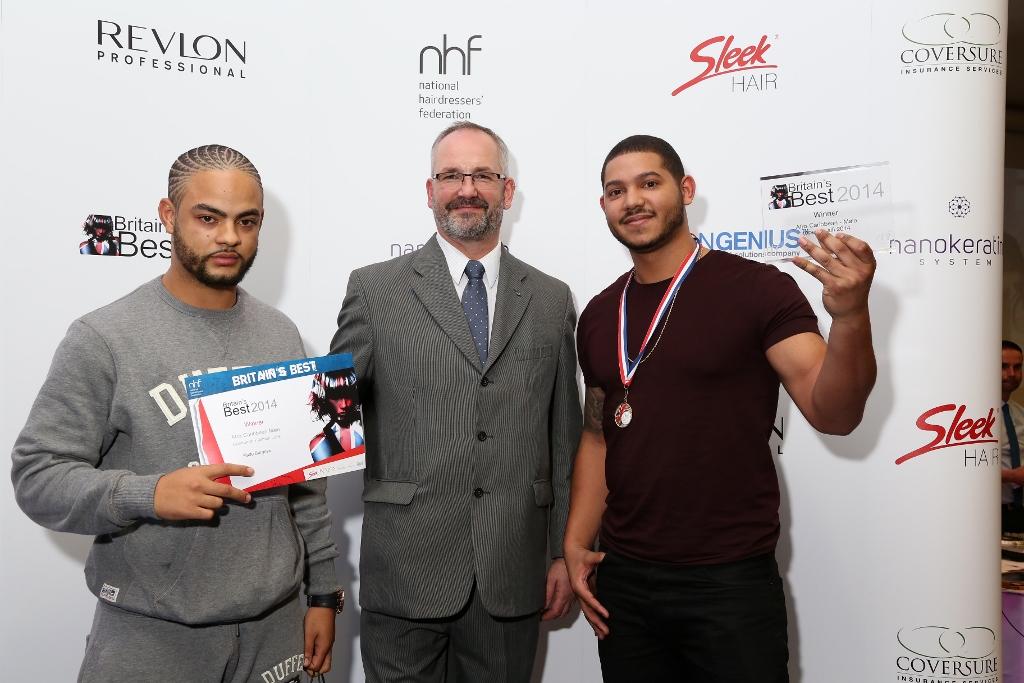NHF celebrates barber skills