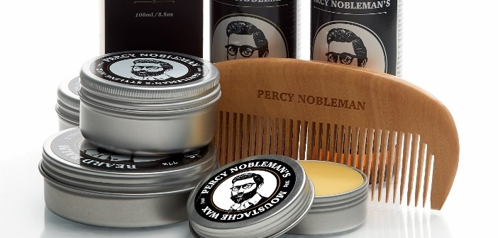 Win a collection of Percy Nobleman products to use or sell in your Barber Shop!