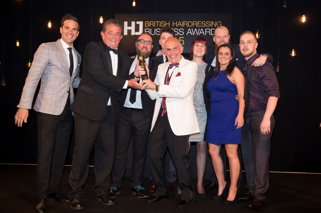 Master Barber's wins Male Grooming Salon of the Year award