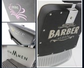 Build YOUR brand with Rem-Men Barber Chairs