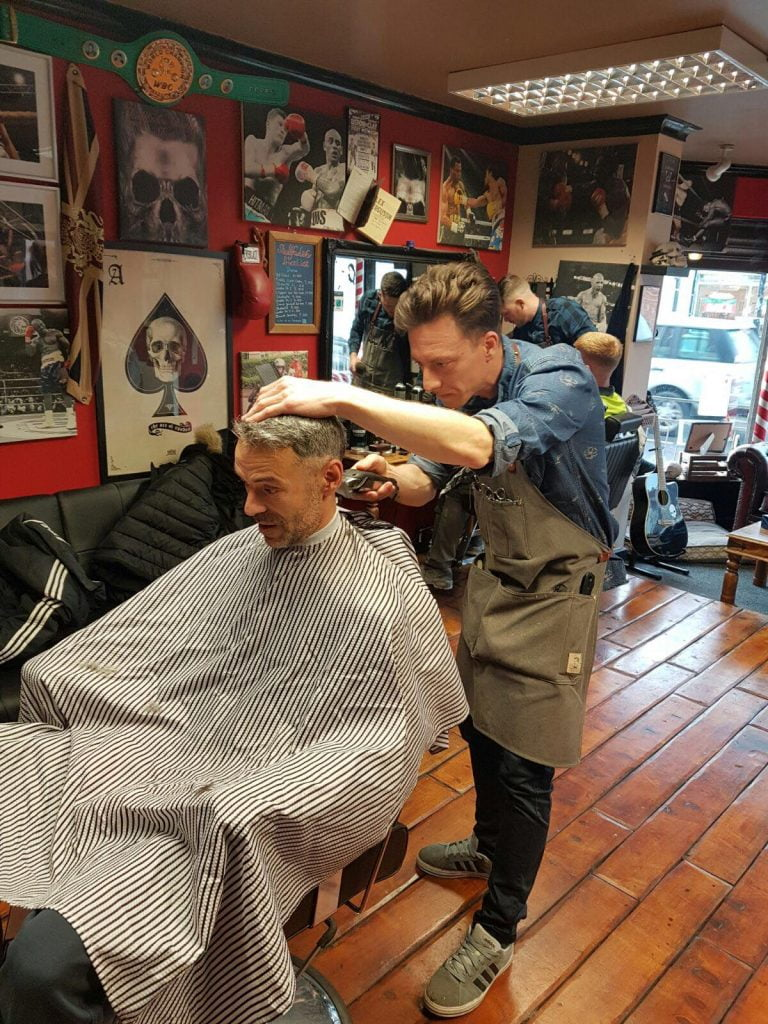 Skullfades offer barber training to homeless