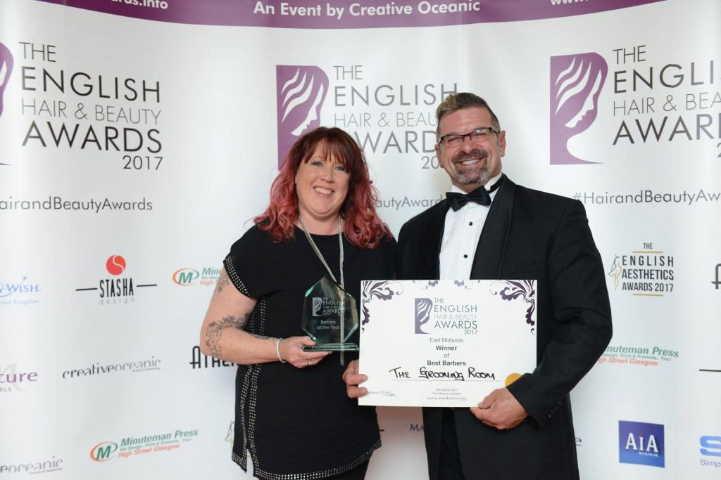 Top barbers at English Hair & Beauty Awards