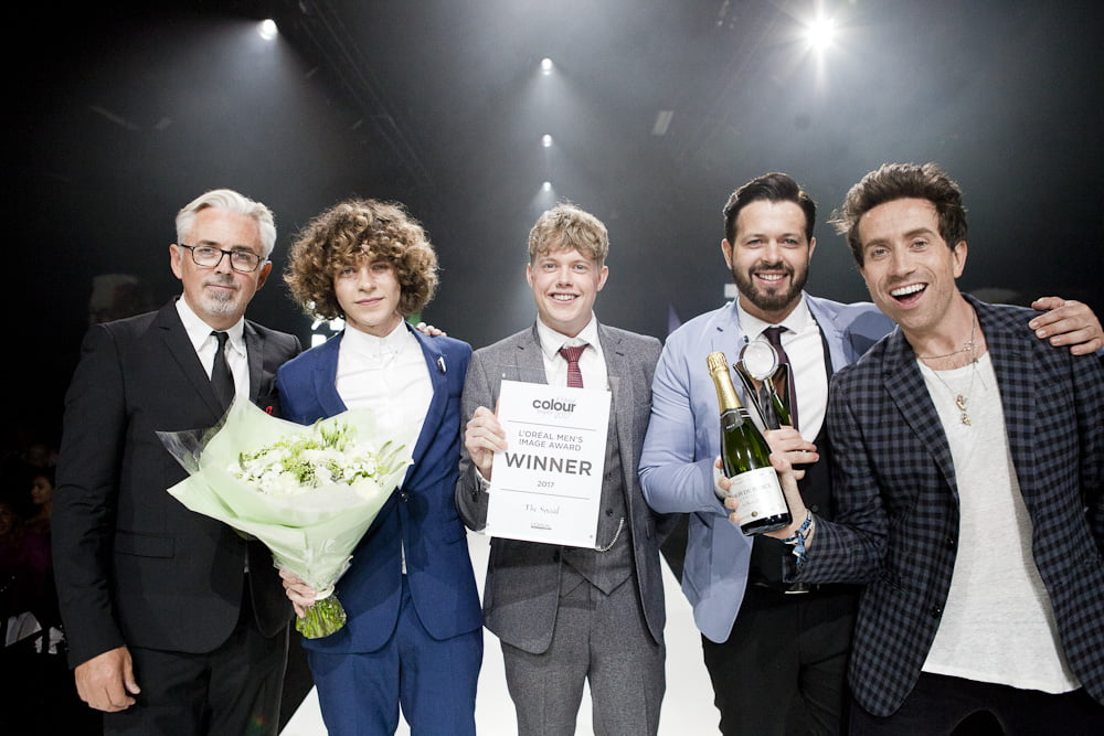 Ky'Cut wins L'Oréal Colour Trophy 'Men's Image'