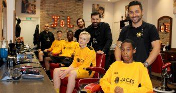 Jacks teams up with Battersea footie club