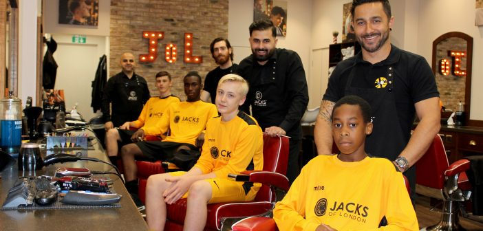 Jacks teams up with Battersea footie club