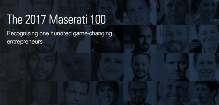 2018 'Maserati 100' opens public nominations