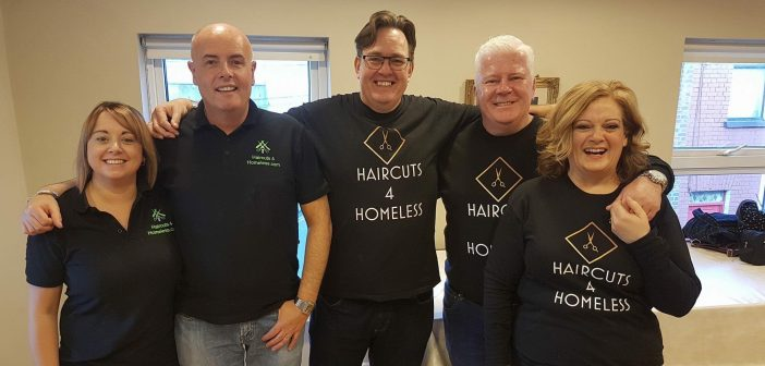 Haircuts4Homeless welcomes Lottery boost