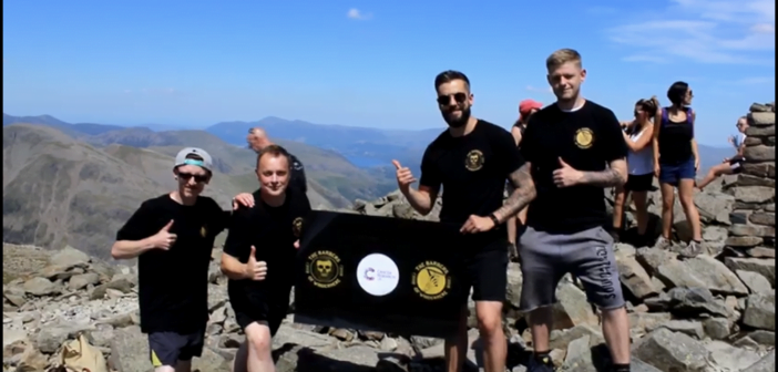 Windermere barbers open shop on Scafell Pike