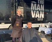 MR.Barbers pop up in Canary Wharf for Movember