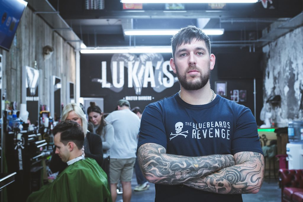 Callum Marks on Bluebeards, barbering and banter