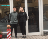 Speedway Champion visits Andy's Barber Shop
