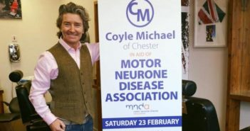 Coyle Michael's 24-hour barbering marathon for MND