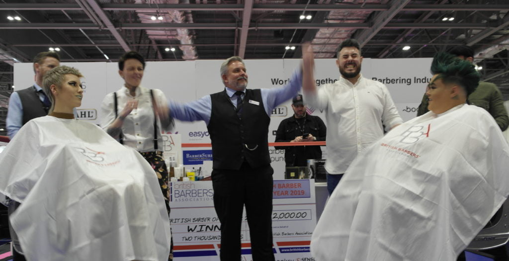 Mathew Guerin: BBA British Barber 2019