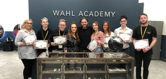 Fellowship Barber Project team spend day at Wahl