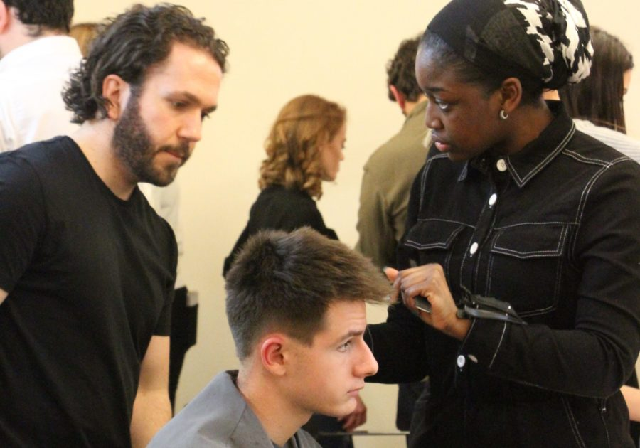 The barbers showcasing skills for industry growth