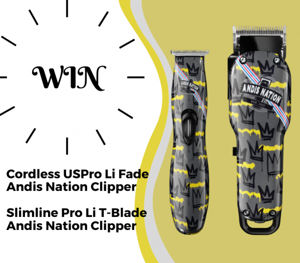 WIN: Andis Nation Clipper and Trimmer Social Media Sweepstake