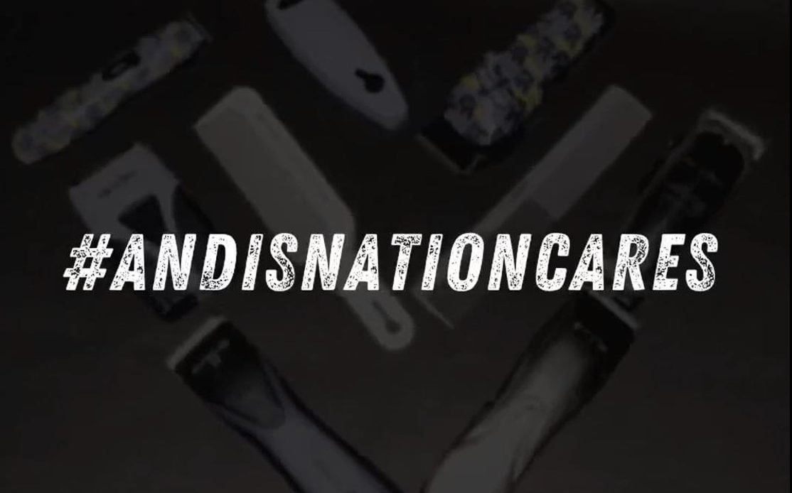 Andis launches #AndisNationCares