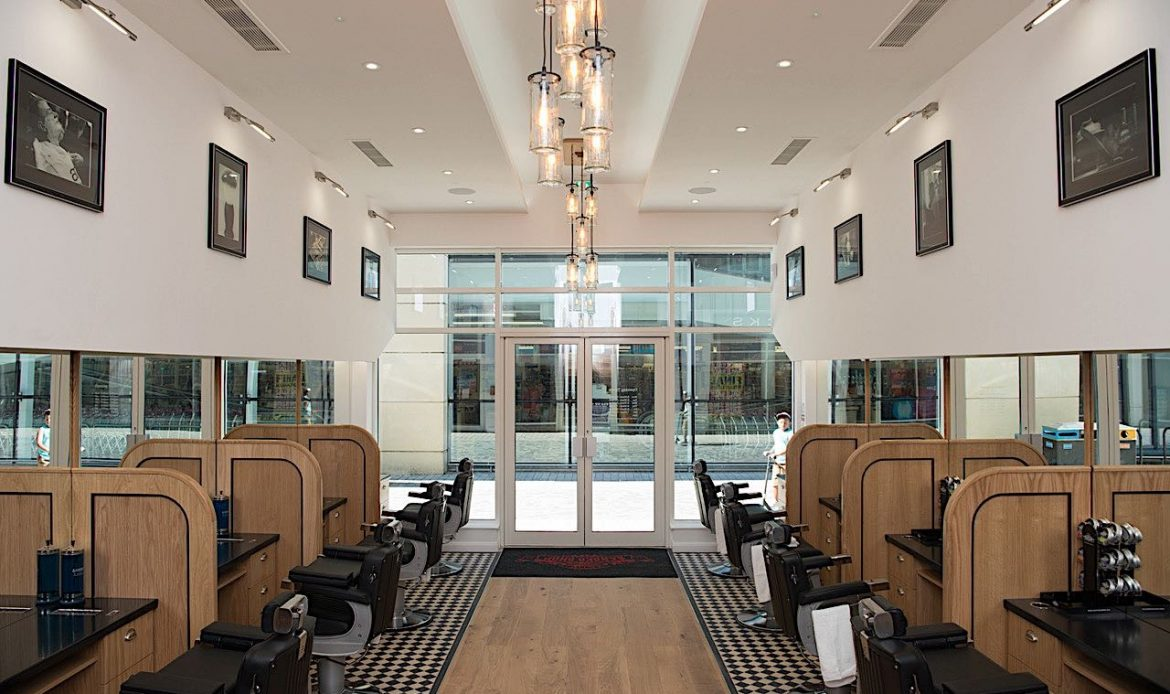 Andy's Barbers plans makes 12.01 AM opening time on the very first day of trading