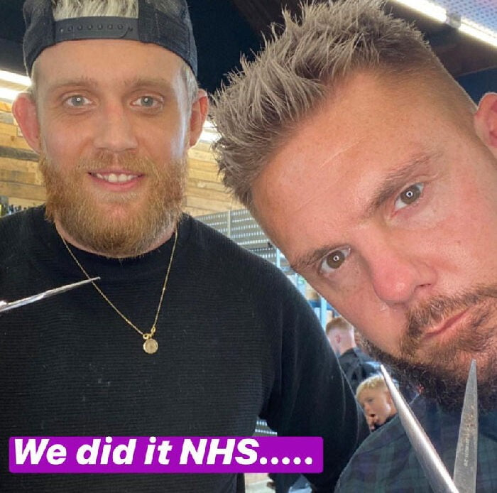 This barber reopened for 24 hours and raised THIS much for NHS …