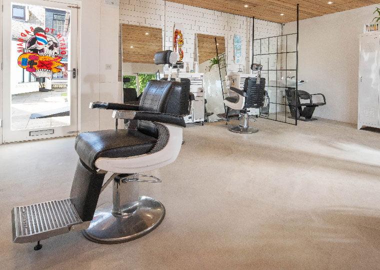 eco friendly barbershop