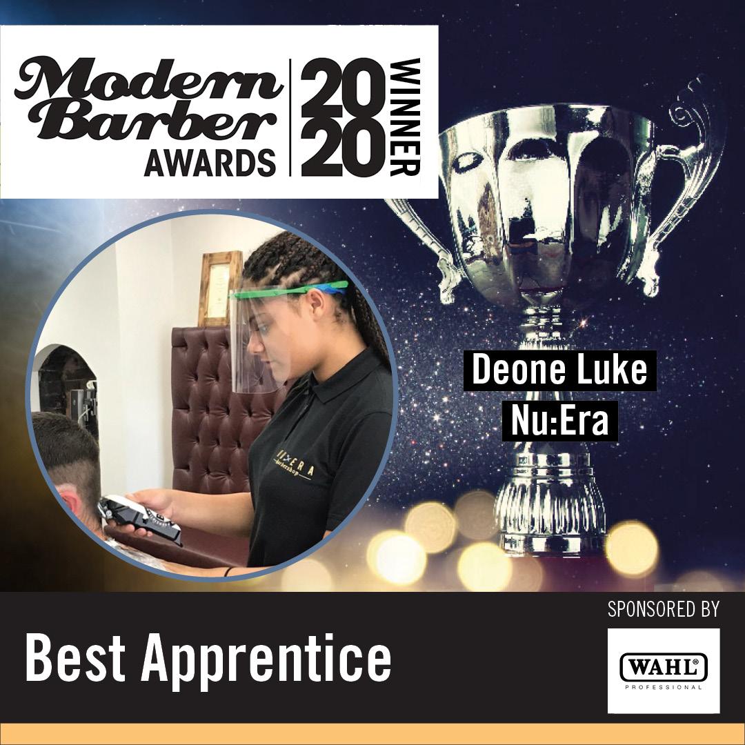 winner modern barber awards