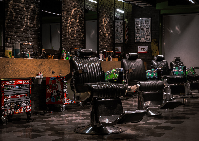 International interiors: BarberRules in Athens, Greece