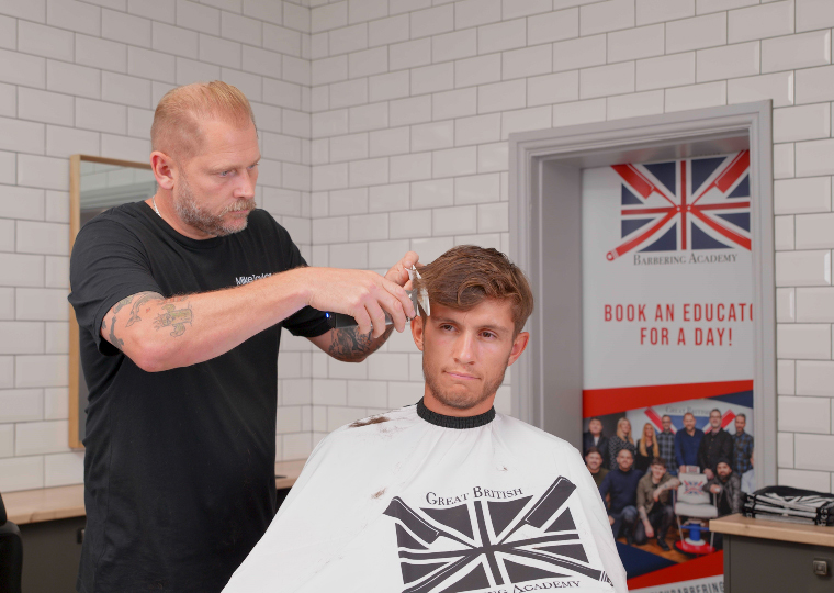 mike taylor online barbering education