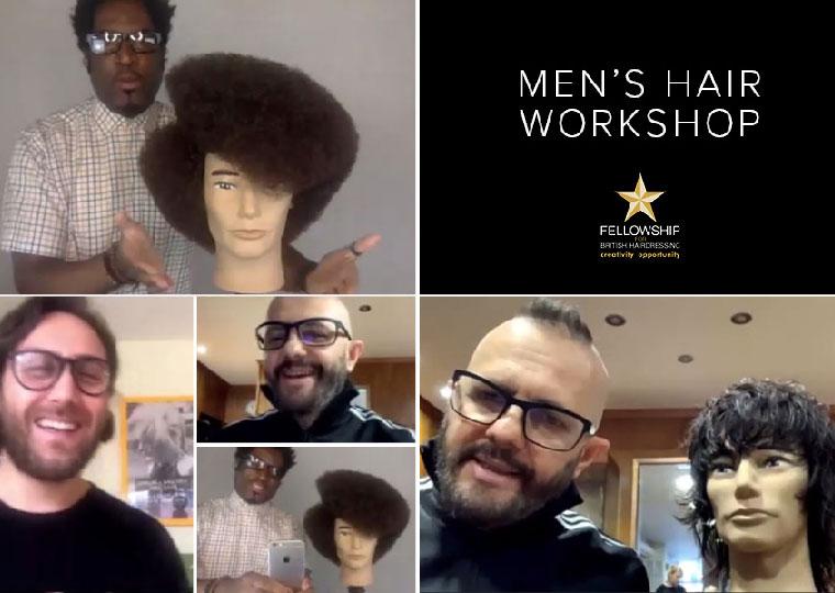 Rino Riccio hosts inspirational men's hair workshop
