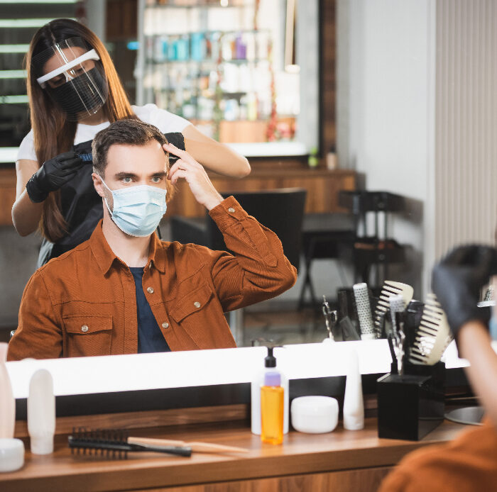 Should barbers and hairdressers be classed as key workers?