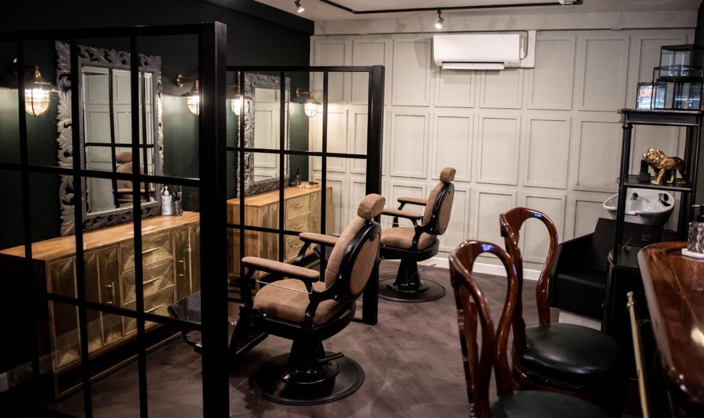 Tom Chapman opens first Lions Barbershop